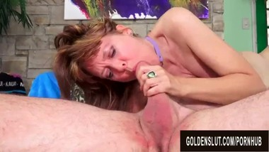 A Wild Fuck Session with Sensational British Grandma Jamie Foster