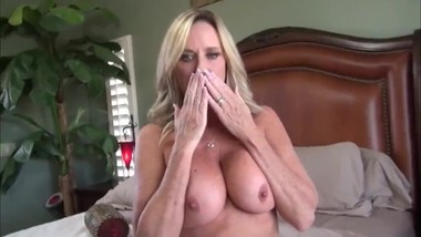 Taboo! Stepson with big cock cums inside his mature stepmom