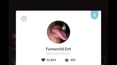 Guy so excited about getting head the first time he periscoped it