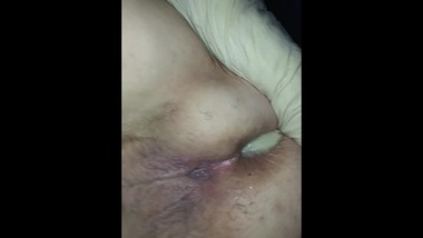 White Milf Cums From Her Asshole Rough Anal Sex And Cum Filled Twice By BBC