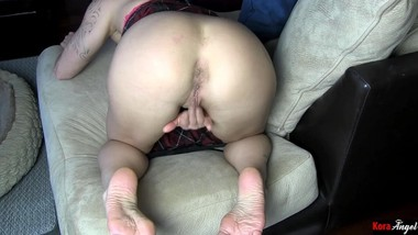 Ass Spreading Foot Worship Smelly Soles