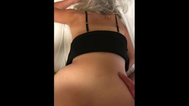 Hot Milf A Little Doggy Style Ass Fucking Mature Granny 60 year old